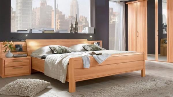 Luxus-Doppelbett Coretta von Disselkamp | Abverkaufmöbel