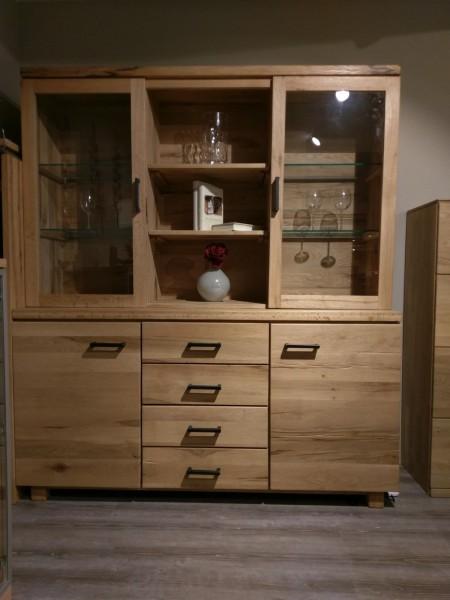 anrichte mit aufsatz aus modell loft city von niehoff abverkaufm bel. Black Bedroom Furniture Sets. Home Design Ideas