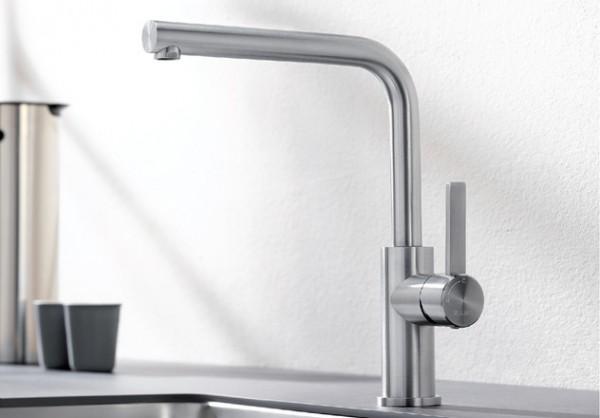 BLANCO LANORA Küchenarmatur 523122 Edelstahl gebürstet, HD