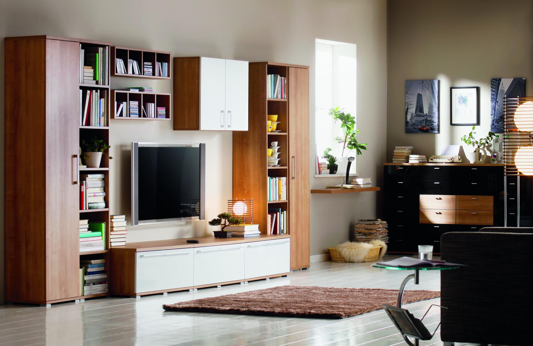 wohnwand rio art von cs schmal abverkaufm bel. Black Bedroom Furniture Sets. Home Design Ideas