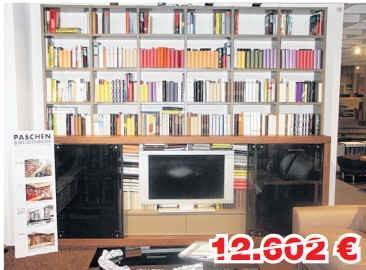 Paschen Regalwand Super Quantum Bibliothek 66