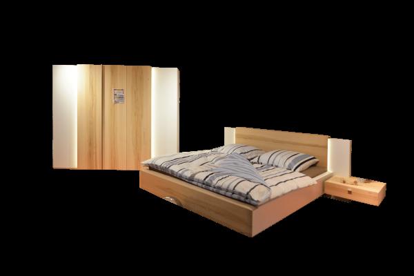 Schlafzimmer Cero in Wildkernbuche massiv von Thielemeyer