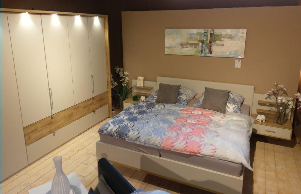 Schlafzimmer komplett Basra von Wiemann | Abverkaufmöbel