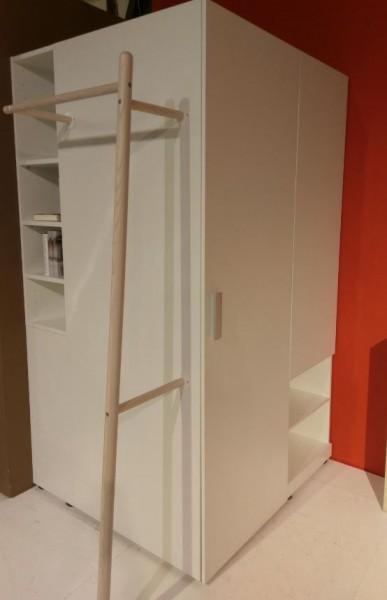 Eckkleiderschrank aus Modell RoomX von Wellemöbel