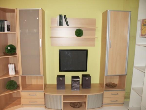 Wohnwand aus Kinderzimmerprogramm Lenja von Wellemöbel